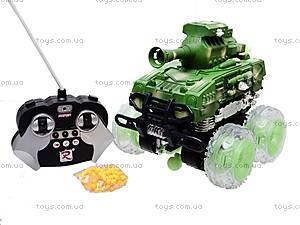 Радиоуправляемый танк со светом, 886-A2, магазин игрушек