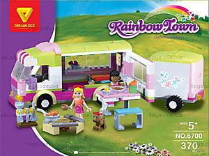 Конструктор для детей «Автобус для пикника», 6700