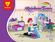 Детский конструктор «Спальная комната», 90 деталей, 6402