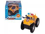 Полицейская машина - перевертыш на батарейке, 6688A