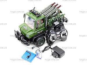Радиоуправляемы грузовик с ракетной установкой , 468-322, цена