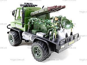 Радиоуправляемы грузовик с ракетной установкой , 468-322, игрушки