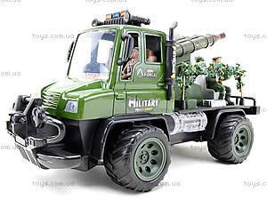 Радиоуправляемы грузовик с ракетной установкой , 468-322, детские игрушки