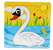 Рамка-пазл «Лебедь», Р098шу, отзывы