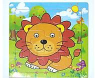 Рамка-пазл «Лев», Р098м, фото