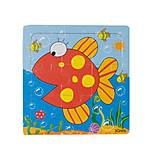 Рамка - пазл «Мини рыбка», Р098нут, фото