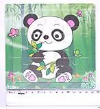 Рамка-пазл «Панда» мини, Р098ду, купить