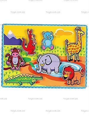 Рамка-вкладыш «Животные», 56435