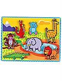 Рамка-вкладыш «Животные», 56435, детские игрушки