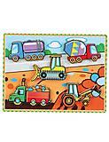 Рамка-вкладыш «Спецмашины» для малышей, 56439, магазин игрушек