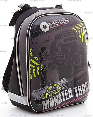 Рюкзак школьный каркасный Muster Truck, 551949