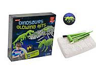 Раскопки «Dinosaur Glowing Kits. Трицератопс», HC188659, фото