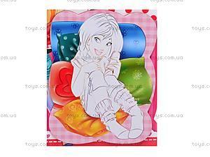Раскраска магнитная «Девочка», VT4401-09, фото