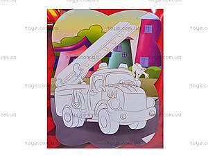 Раскраска магнитная «Пожарная машина», VT4401-13, фото