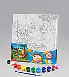 Раскраска «Миша и Маша веселятся», РХ-03-04, интернет магазин22 игрушки Украина