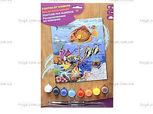 Раскраска по номерам «Кораловый риф», акрил, 0032-KSG, купить