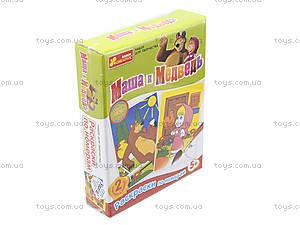 Раскраска по номерам «Маша з леденцом», 4004-5, игрушки
