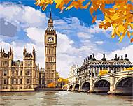 Картина по номерам «Осенний Лондон», КН2134