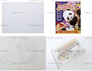 Раскраска по номерам на холсте «Панда», 4946