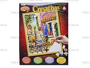 Раскраска по номерам «Патио» (акрил), 1105-KSG, купить