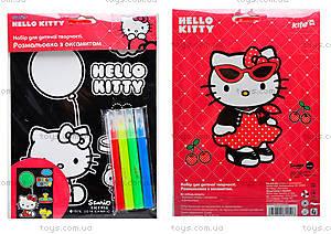 Раскраска с бархатом «Hello Kitty», HK14-157K