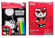Раскраска с бархатом «Hello Kitty», HK14-157K, фото