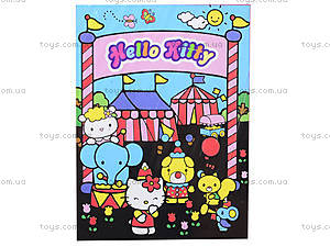 Раскраска с бархатом Hello Kitty, HK14-156K, купить