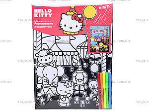 Раскраска с бархатом Hello Kitty, HK14-156K