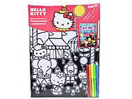 Раскраска с бархатом Hello Kitty, HK14-156K, отзывы