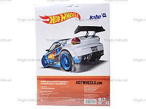 Раскраска с бархатом Hot Wheels, HW14-157K, купить
