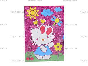 Раскраска с глиттером Hello Kitty, HK14-158K, фото