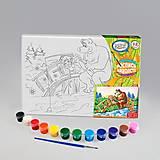 Раскраска с мультяшными героями, PX-01-06
