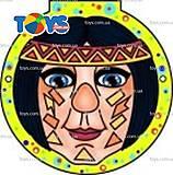 Раскраски-маски для маленьких «Клоун», 73977