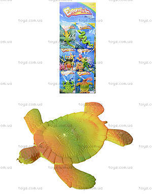 Растушка морские животные на планшете, PR263