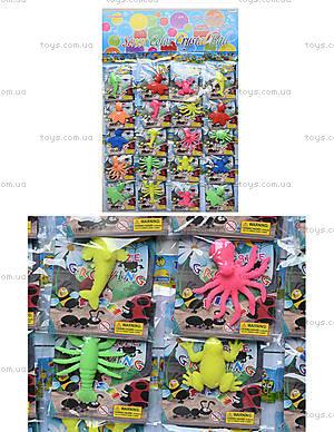 Морские растушки с рыбками и жабками, PR514
