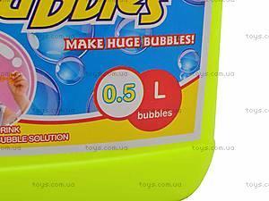 Раствор для мыльных пузырей, 500мл, 777, фото
