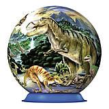 3D Пазл Ravensburger «Динозавры», 72 элемента, 12127, фото