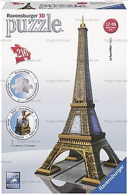 3D Пазл Ravensburger «Эйфелева башня», 12556