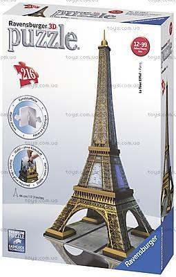 3D Пазл Ravensburger «Эйфелева башня», 12556, отзывы