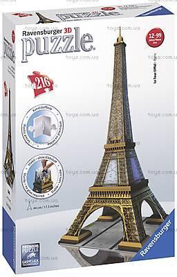 3D Пазл Ravensburger «Эйфелева башня», 12556, цена