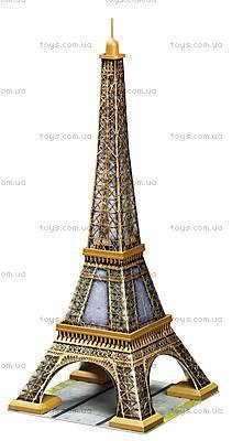 3D Пазл Ravensburger «Эйфелева башня», 12556, игрушки