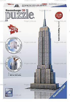 3D Пазл Ravensburger «Небоскреб Empire State Building», 12553, отзывы