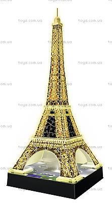 3D Пазл-ночник «Ночная Эйфелева башня», 12579, фото