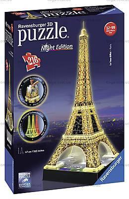 3D Пазл-ночник «Ночная Эйфелева башня», 12579