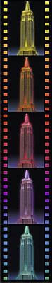 3D Пазл-ночник «Ночной Empire State Building», 12566, купить