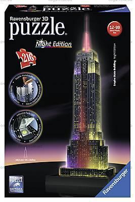 3D Пазл-ночник «Ночной Empire State Building», 12566, игрушки
