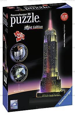 3D Пазл-ночник «Ночной Empire State Building», 12566