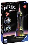 3D Пазл-ночник «Ночной Empire State Building», 12566, toys.com.ua