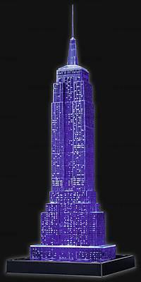 3D Пазл-ночник «Ночной Empire State Building», 12566, детские игрушки