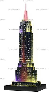 3D Пазл-ночник «Ночной Empire State Building», 12566, магазин игрушек
